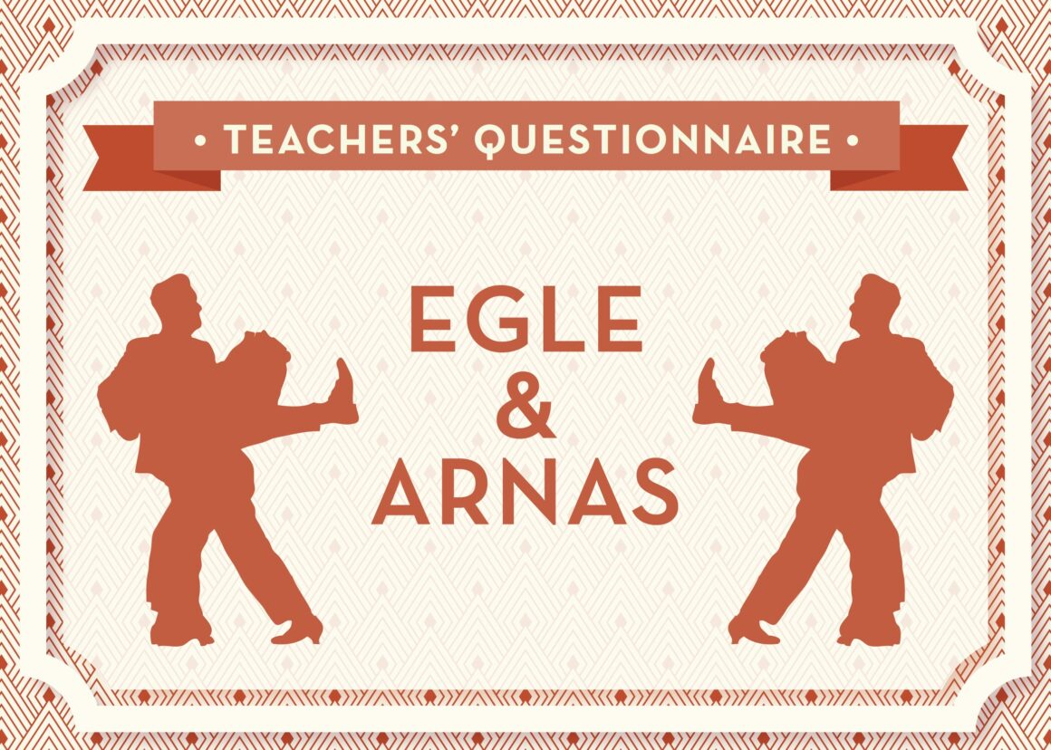 Teachers' Questionnaire No 1 Egle & Arnas